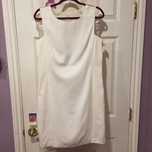Sheer beaded back dress